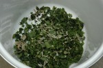 Nettle, lime flower, sea purslane and sea lettuce burger mix